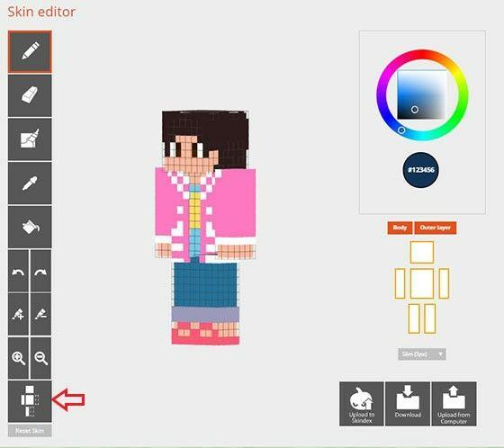 Minecraft Skindex Mirror 99338