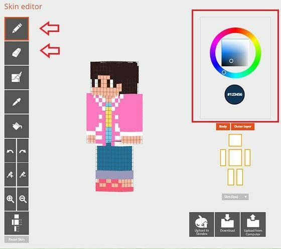 Minecraft Skindex Pencil D7a11
