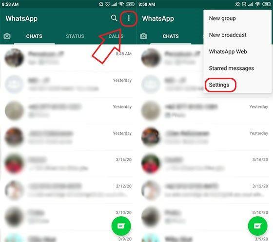 Cara Melihat Chat WA Yang Sudah Dihapus Lama F7005
