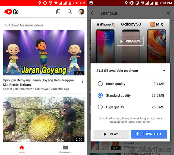Cara Download Video Youtube Go 1
