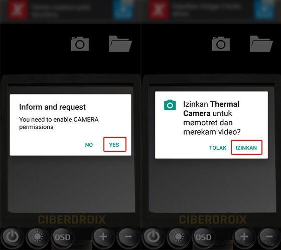 Cara Mengaktifkan Kamera Pendeteksi Panas Android 2