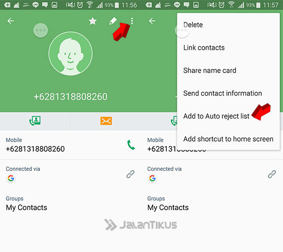 Cara Blokir Nomor Panggilan Masuk Di Samsung 2