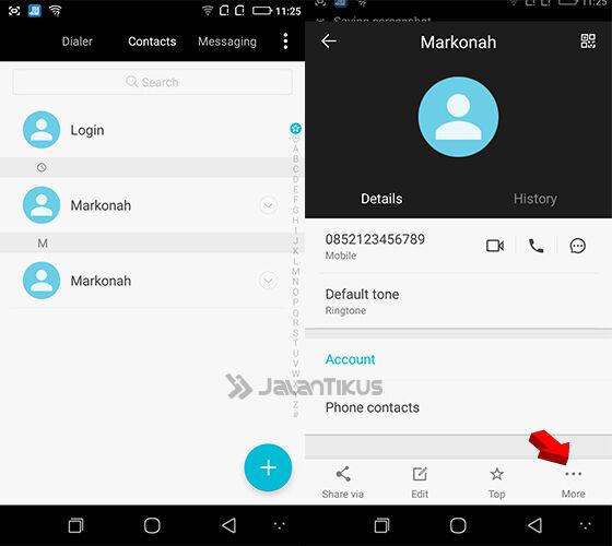 Cara Blokir Nomor Telepon Di Smartphone Coolpad 3