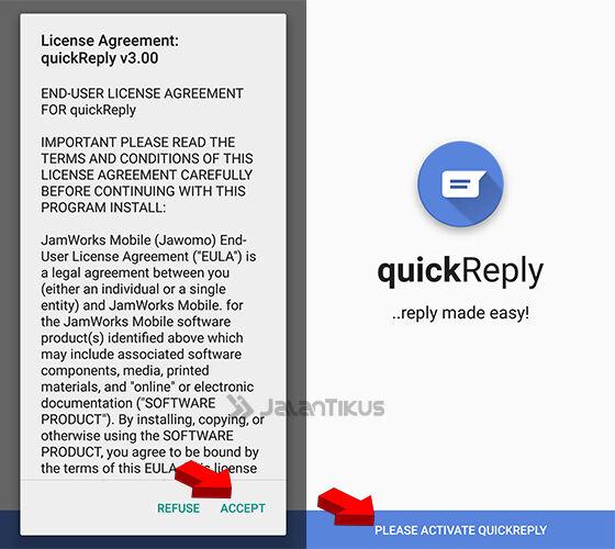 Cara Membalas Notifikasi Chat Di Android 2