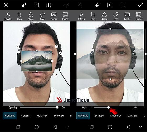 cara membuat foto double exposure 3