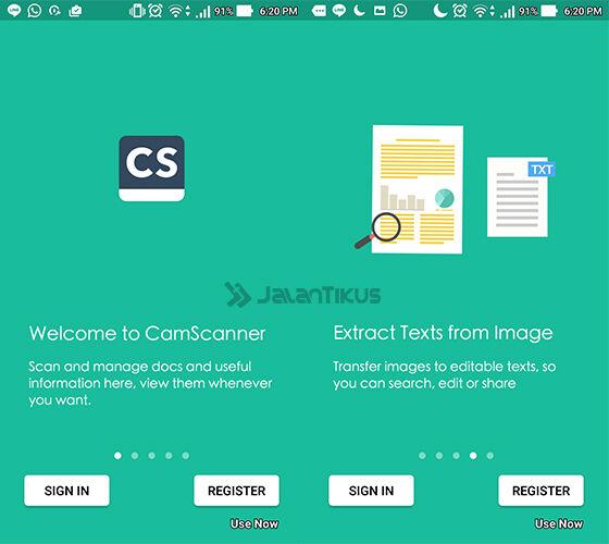 Ubah Android Jadi Scanner 1