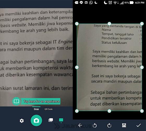 Ubah Android Jadi Scanner 3