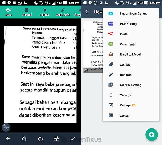 Ubah Android Jadi Scanner 4