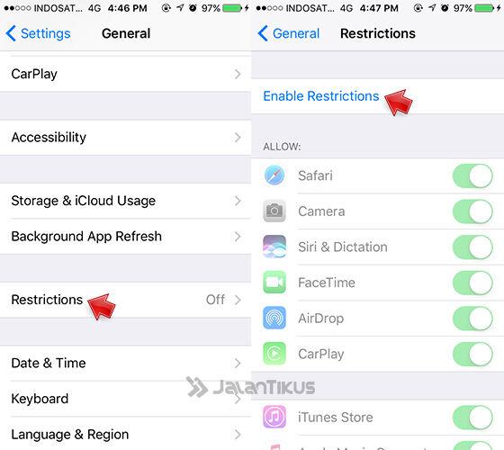 Menyembunyikan Aplikasi Iphone 1