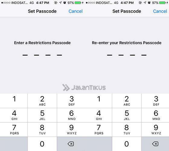 Menyembunyikan Aplikasi Iphone 2