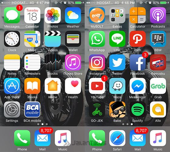 Menyembunyikan Aplikasi Iphone 31