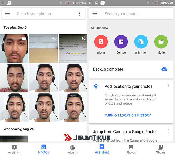 Cara Membuat Film Google Photos 1