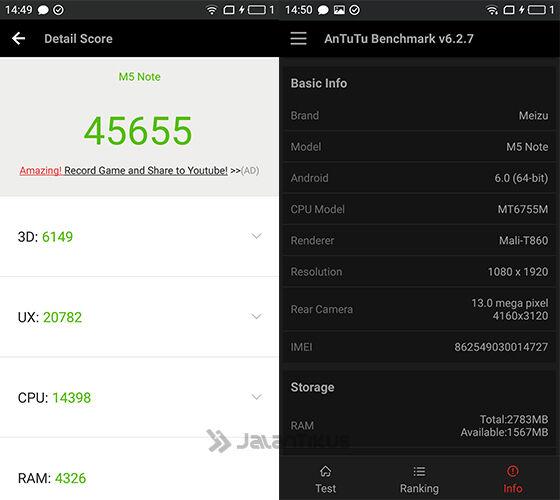 Review Meizu M5 Note 1