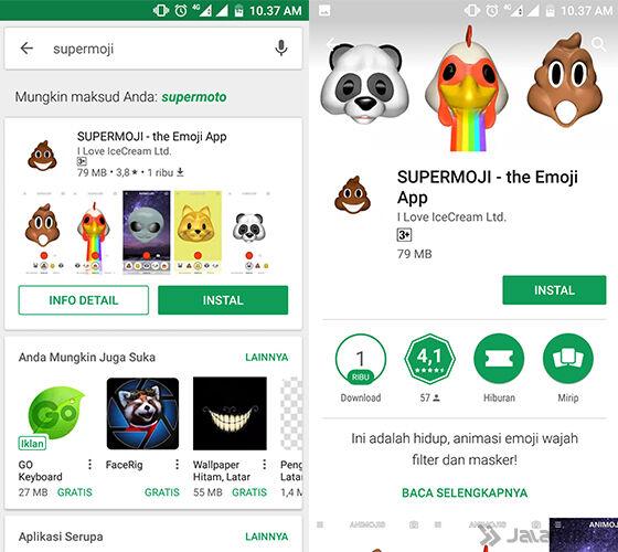 Cara Pakai Animoji Iphone X Android 1