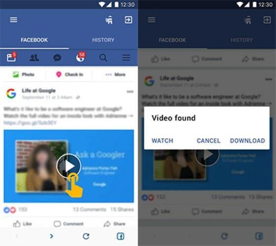 10 Aplikasi Download Video Facebook Android Terbaik 2019