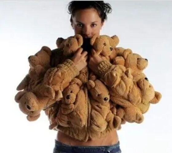 Jaket Boneka Beruang 6c0ca