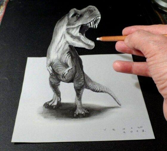 Gambar 3D Keren Pensil 7 728b1