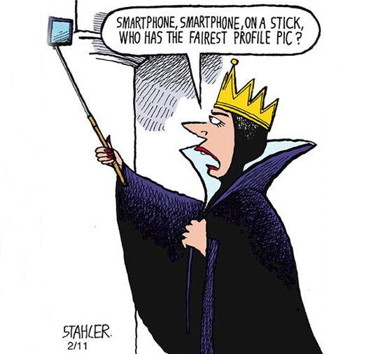 Ilustrasi Menyedihkan Dampak Smartphone 4