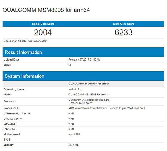 Qualcomm Sd 835