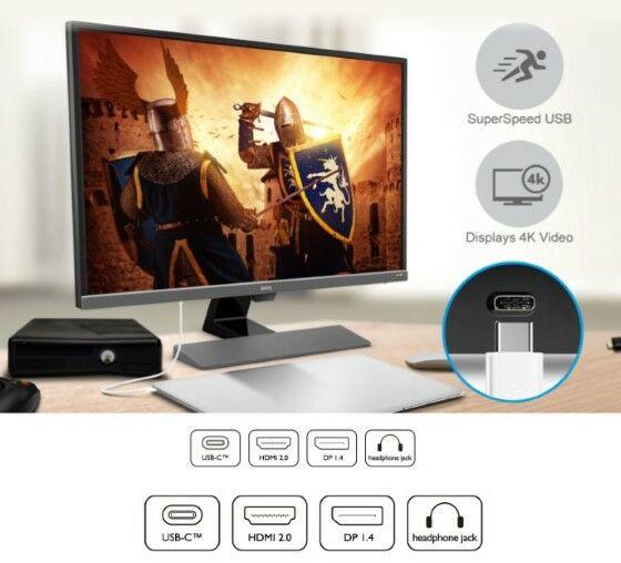Rekomendasi Monitor Gaming 4K HDR Terbaik Konektivitas Bb0ee