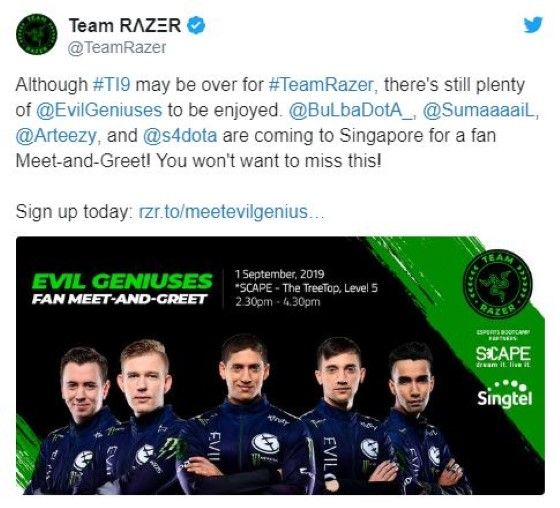 Evil Geniuses Akan Latih Timnas Indonesia Untuk Sea Games Meet And Greet 06e12