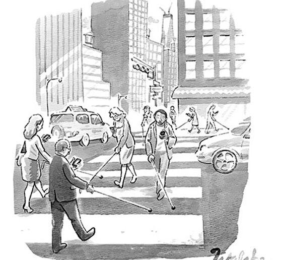 Ilustrasi Menyedihkan Dampak Smartphone 3