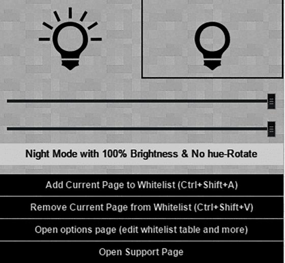 Night Mode Google Chrome 4