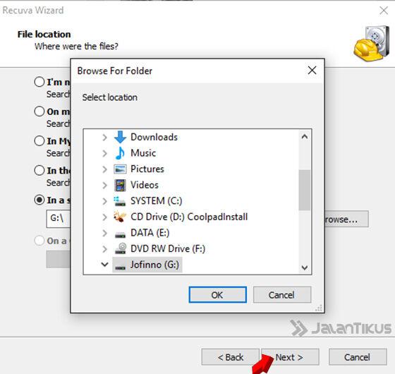 Cara Mengembalikan File Foto Musik Video Di Android 4