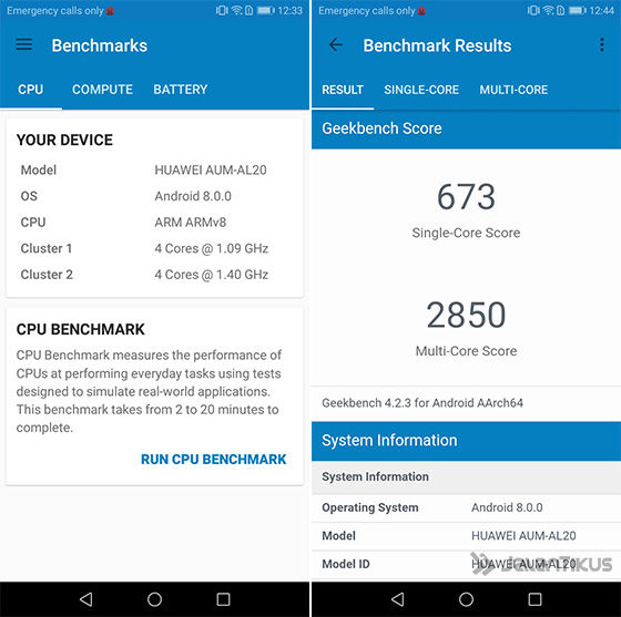 Honor 7a Benchmark Geekbench 5bff3