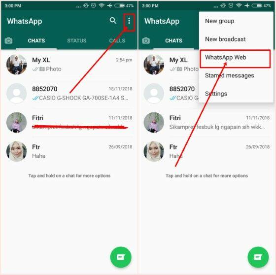 Cara Menggunakan Web Whatsapp 4c747