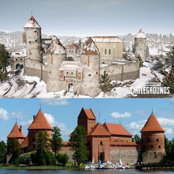 Lokasi PUBG Yang Terinspirasi Dari Dunia Nyata Castle 8a363