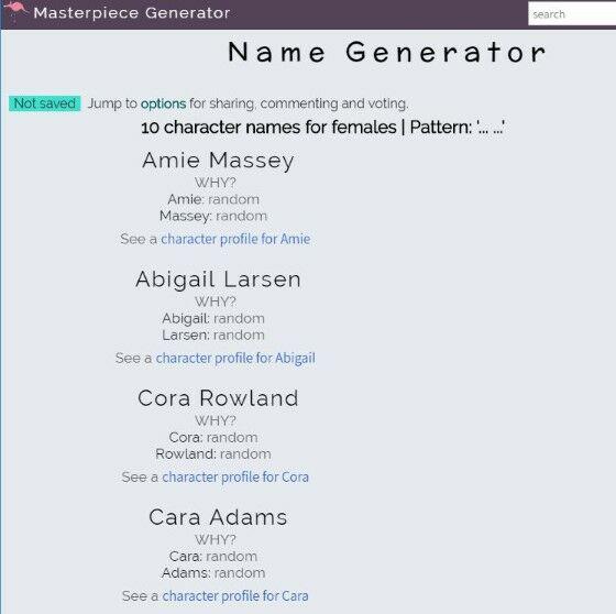 Nama Squad Keren 4