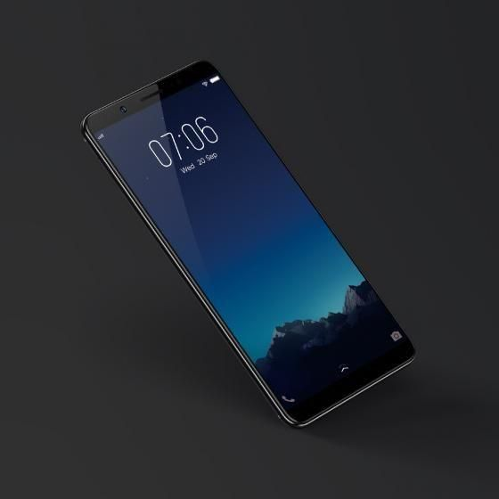 Smartphone Bezel Less 2017 Vivo V7 Plus