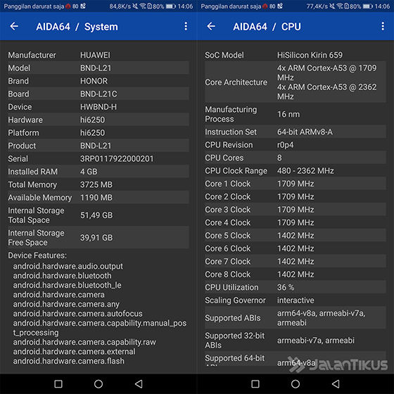 Chipset Honor 7x 04a8f