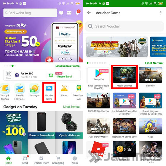 Cara Top Up Mobile Legends Melalui Tokopedia 1 Ac1b8