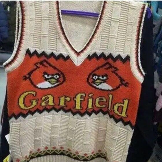 Pakaian Angry Bird Garfield 551af