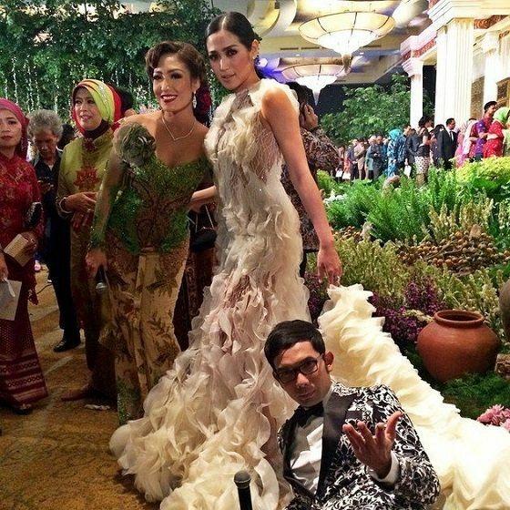 Jessica Iskandar Tampil Bak Pengantin Di Pernikahan Raffi Gigi 67aa7 E40ec