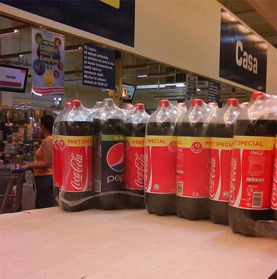 Kenapa Bisa Ada Pepsi Nyelip