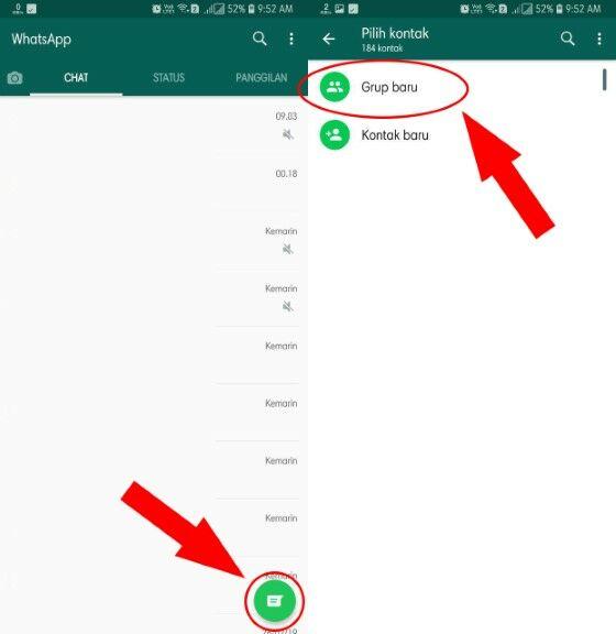 cara membuat grup whatsapp terbaru 2019