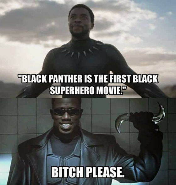 Meme Black Panther - 9