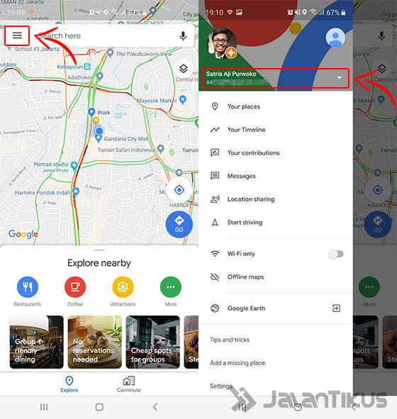 cara melacak hp google maps 01