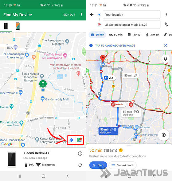cara melacak hp hilang android device manager 03
