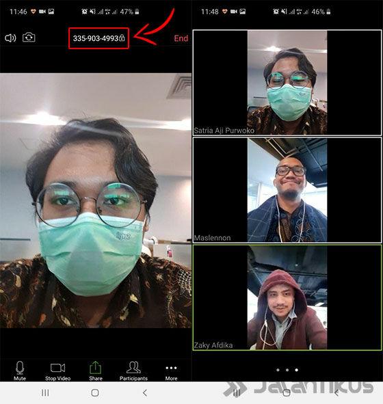 Cara Pakai Zoom Cloud Meetings di HP dan Laptop, Buat WFH ...