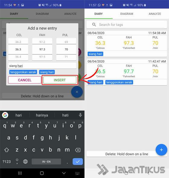 Cara Menggunakan Aplikasi Body Temperature Diary 02 79532