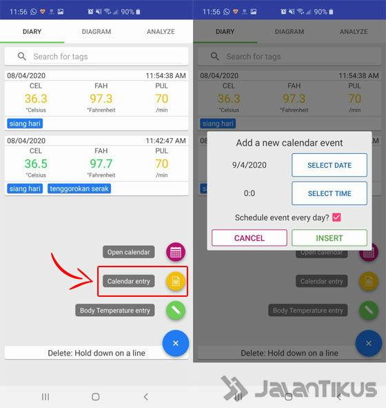 Cara Menggunakan Aplikasi Body Temperature Diary 04 7f503