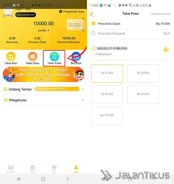 Cara Mendapatkan Uang Gratis Newscat 03 2db0d