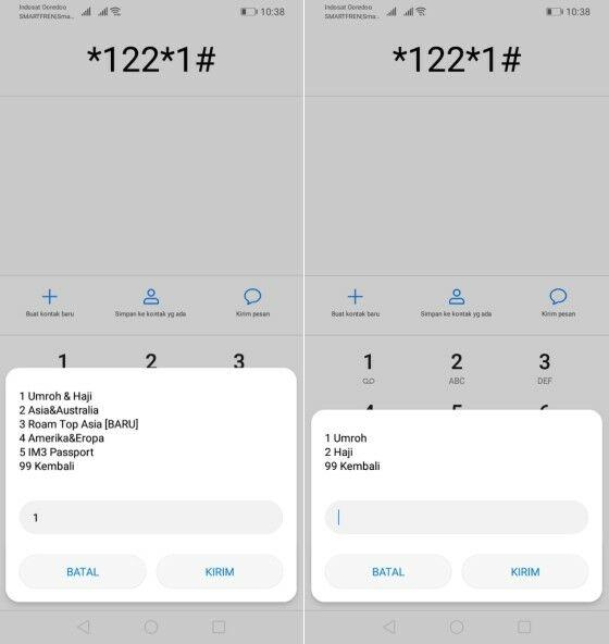Pake Haji Indosat Dial 2 4d54e