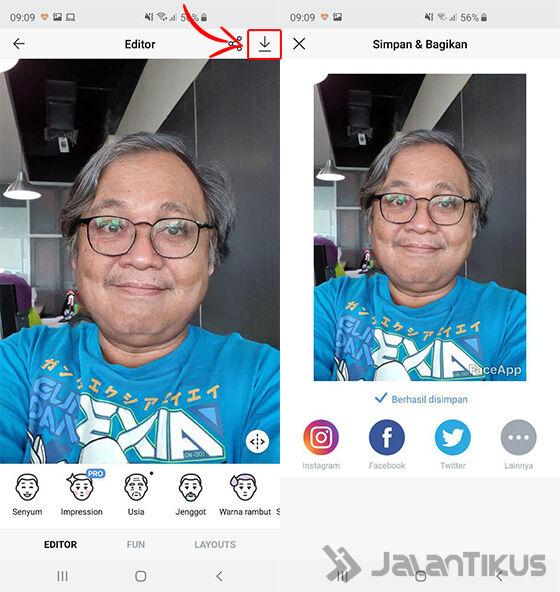 Cara Edit Foto Jadi Tua Age Challenge 04 F8c87