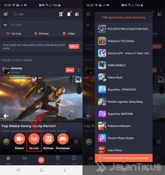 Cara Live Streaming Game di Facebook   PC & HP Android ...