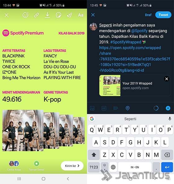 Cara Share Spotify Wrapped 2019 Android 05 Adbdf